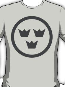 Swedish Air Force Insignia (Low Vis) T-Shirt