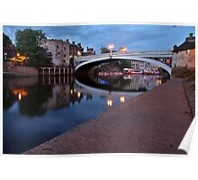 Lendal Bridge After Sunset Poster