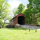 Loy's Station Covered Bridge by James Brotherton