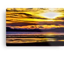 Mare Island Sunset 12 (HDR #2) Metal Print