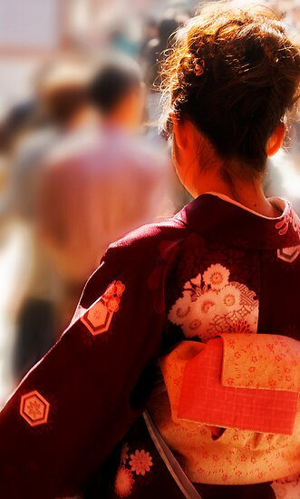Japanese Tradition, Kyoto, Japan by Margaret Goodwin