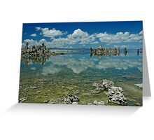 Mono Lake Landscape Greeting Card