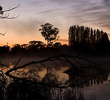 Sunrise at Gosling Creek by Edith Gowing
