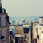 Montmartre skyline  by andreauzelac
