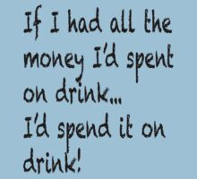If I had all the money I'd spent on drink by Brian Varcas