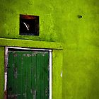 Green, Green and Green - Simonstown by George Moolman
