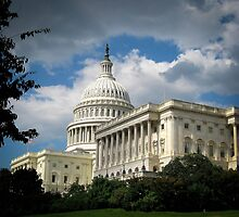 The Capitol - Washington DC by George Moolman