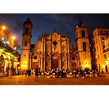 Havana Cathedral Photographic Print