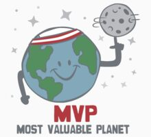 MVP Most Valuable Planet by DetourShirts