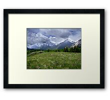 The End of the Prairie Framed Print