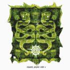 cosmick serpent sticker by mark tizard
