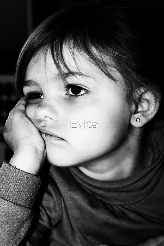 It's Hard Being A Child Sometimes by Evita