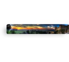 Vulci at sunset Canvas Print