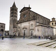 Cattedrale del Palazzo Dei Papi, Viterbo by Marco Borzacconi