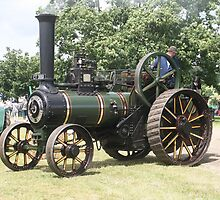 The Burrell Traction Engine by Peter Bodiam