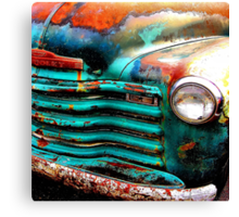 Will Work For Paint Canvas Print