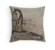 Zuri Jumps For Joy - Cincinnati Zoo Throw Pillow