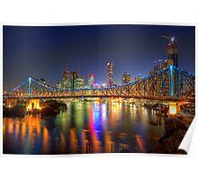 Brisbane • Queensland • Australia Poster