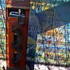 La Voiture dans La Fenetre   Gare Lille Europe  by James  Key