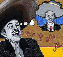 Santo Sueño: Pedro Infante vs. Jorge Negrete by minervatg
