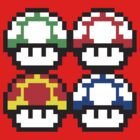 Mario - The Mushroom Kingdom by Animenace