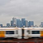 speed and docklands  by richard  webb