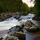 The Falls of Feugh at Banchory Aberdeenshire by Bill Buchan
