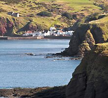 Pennan The Local Hero Village by Bill Buchan