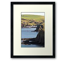 Pennan The Local Hero Village Framed Print