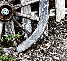 Wagon Wheels by ©FoxfireGallery / FloorOne Photography
