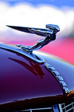 "1935 Auburn 851 Supercharged Cabriolet ""Goddess"" Hood Ornament by Jill Reger"