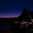 Mercury, Venus and Mars at Long Reef by Jason Ruth