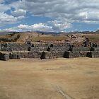 Sacsayhuaman - Cusco, Peru by Edith Reynolds