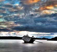 Eddies' Boat by Stephen Lawlor