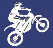Motocross t-shirt (White logo) by Spartiatis75