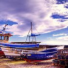High and Dry at Pittenweem by GillBell