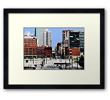 """Downtown Denver"" HDR Framed Print"