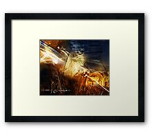"""Painted with Light"" Framed Print"