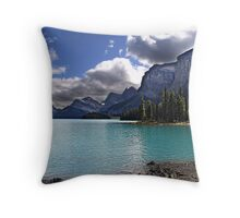 The Shores of Paradise Throw Pillow