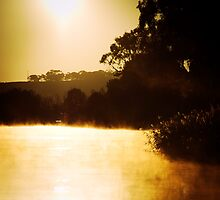 Sunrise near Mannum by Andre Gascoigne