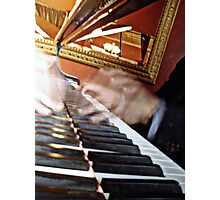 The Piano Man Photographic Print