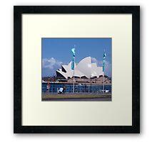 Sunny Sydney Framed Print