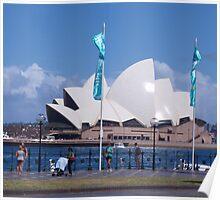 Sunny Sydney Poster