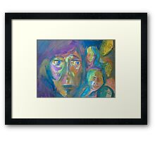 The Grandmother Framed Print