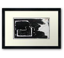 b(l)ack in halifax Framed Print