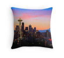 Seattle Dawn Throw Pillow