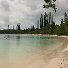 Isle of Pines beach by lols