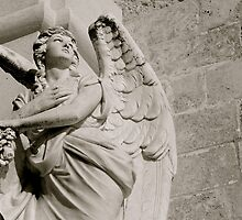 """Guardian Angel"", Building detail, Santa Maria di Leuca. Puglia, Itlay. by Stella Klein"