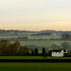 Chicheley Hill  Buckinghamshire  UK by James  Key