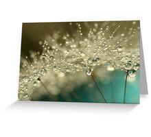 Smoky Blue Greeting Card